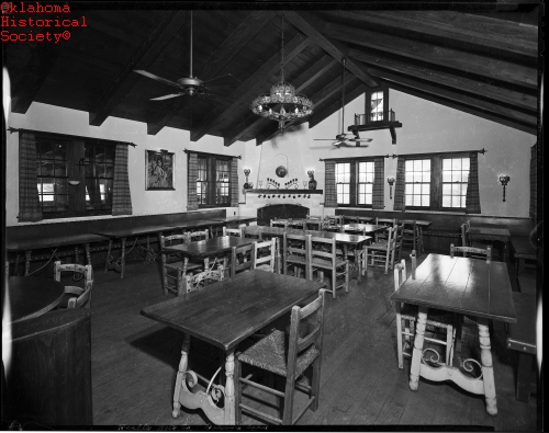 dolores early dining room