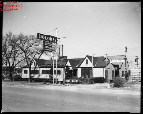 Dolores Restaurant - an early Oklahoma City Route 66 attraction.