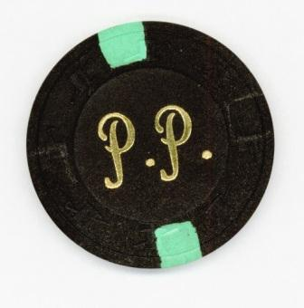 A personalized Pody Poe poker chip - now a proud part of Steve's history collection.